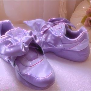 Fenty x Puma Satin Sneakers 💜